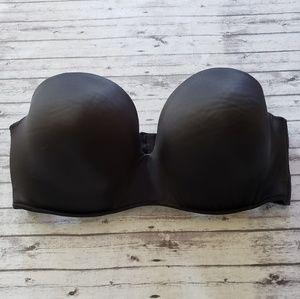 Cacique Intimates & Sleepwear - 38F Bra Cacique Smooth Boost Black Strapless